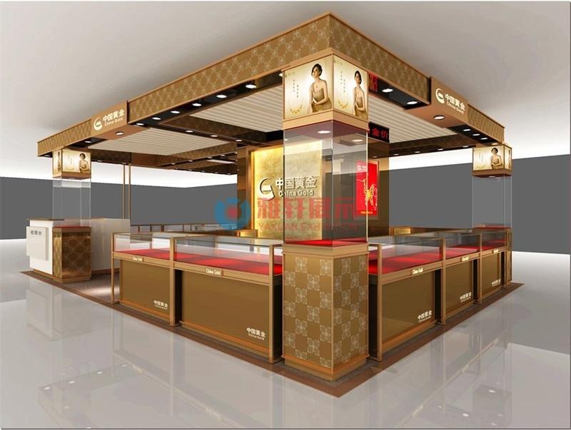 东莞中国黄金珠宝展柜